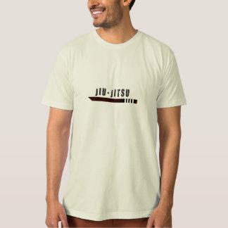 T-shirt chemise brune de ceinture de bjj