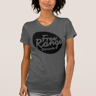 T-shirt Chemise bue par gamme libre de l'asphalte des