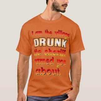 T-shirt Chemise bue par village
