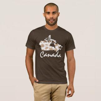T-shirt Chemise canadienne de feuille du Canada d'érable