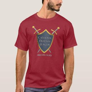 T-shirt Chemise catholique de ligue de la défense