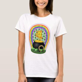 T-shirt Chemise chanceuse de Jour de la Saint Patrick