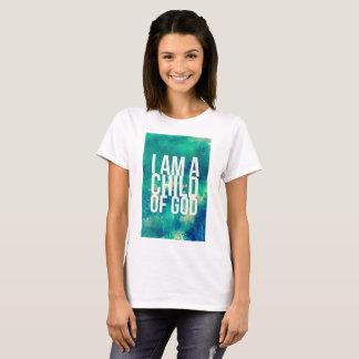 T-shirt Chemise chrétienne : Je suis un enfant de Dieu