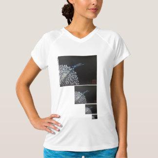 T-shirt Chemise - chrysanthème et damselfly