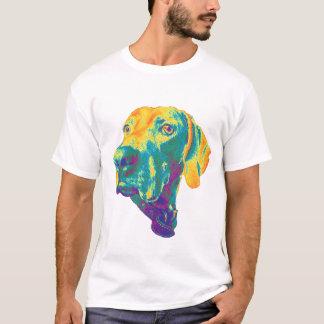T-shirt Chemise colorée de weimaraner