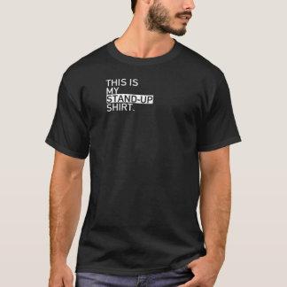 T-shirt Chemise comique agile