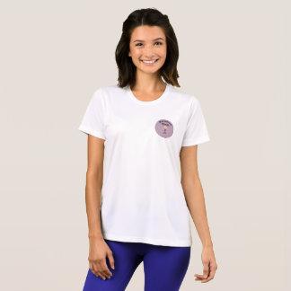 T-shirt Chemise courante de mamans de marathon