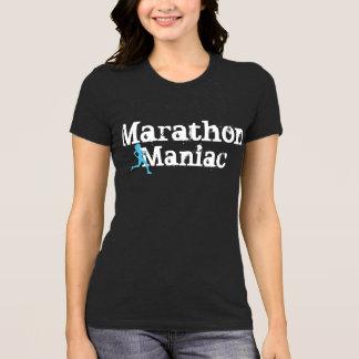 T-shirt Chemise courante drôle maniaque de marathon
