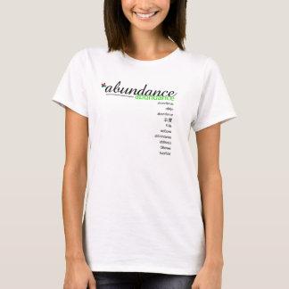T-shirt Chemise d'abondance de PositivEnergy