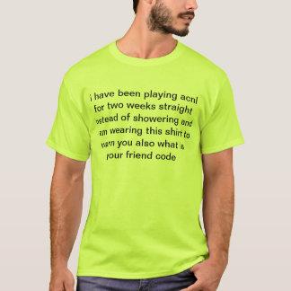 T-shirt chemise d'acnl