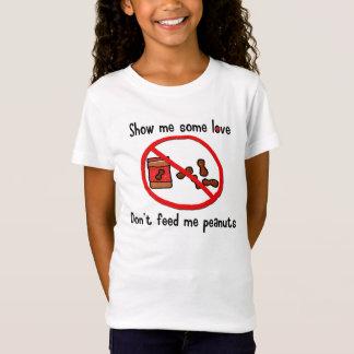 T-Shirt Chemise d'allergie d'arachide (enfants)