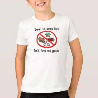 T-shirt Chemise d'allergie de gluten