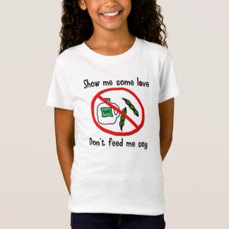 T-Shirt Chemise d'allergie de soja