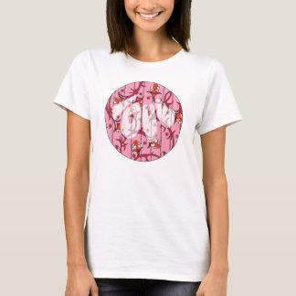 T-shirt chemise d'amour de la renaissance 60s