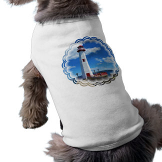 T-shirt Chemise d'animal familier d'art de phare