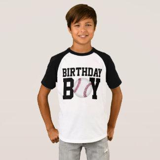 T-shirt Chemise d'anniversaire de base-ball, chemise