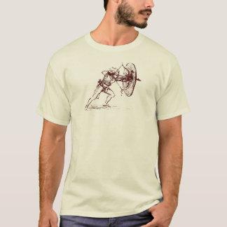 T-shirt Chemise d'archer de Léonard de Vinci