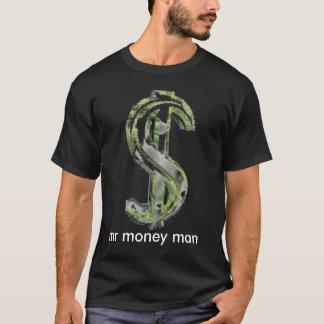 T-shirt chemise d'argent