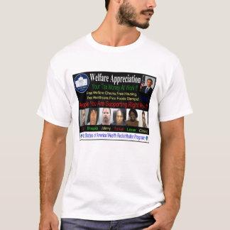 T-shirt Chemise d'assistance sociale d'Obama