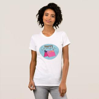 T-shirt Chemise de Bohème de tente de profondément
