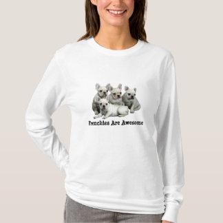 T-shirt Chemise de bouledogue français