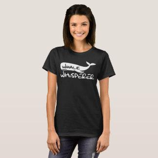 T-shirt Chemise de cadeau de Whisperer de baleine