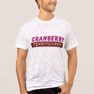 T-shirt Chemise de canneberge de canneberge