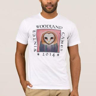 T-shirt chemise de capot de hibou pour les jeux 2014 de