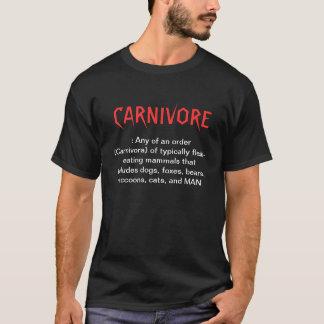 T-shirt Chemise de carnivore