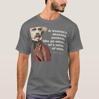 T-shirt Chemise de chasteté de Nathaniel Hawthorne