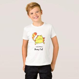 T-shirt Chemise de chat de bande dessinée d'amusement de