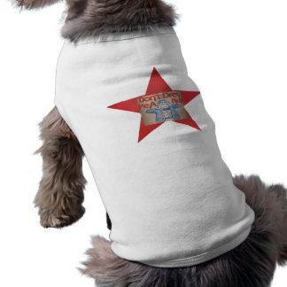 T-shirt Chemise de chien avec l'énonciation Yiddish