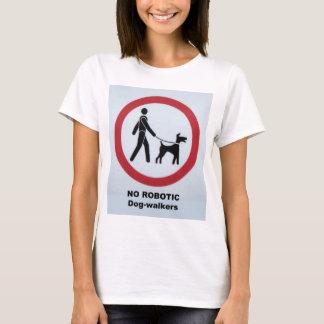 T-shirt Chemise de chien-marcheurs de robot
