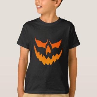 T-shirt Chemise de citrouille du feu de Childs