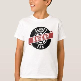T-shirt Chemise de ClosetNASCARFan des enfants