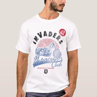 T-shirt Chemise de club de moto d'envahisseurs