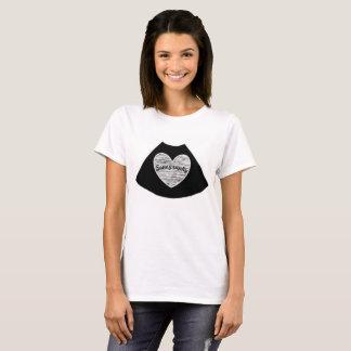 T-shirt Chemise de coeur d'échographie