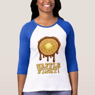 T-shirt Chemise de combat de la gaufre des dames