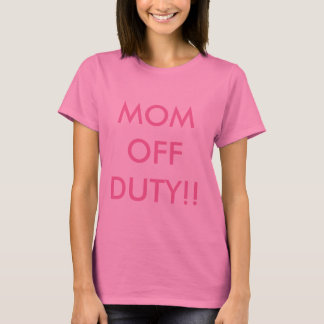 T-shirt Chemise de congé de maman