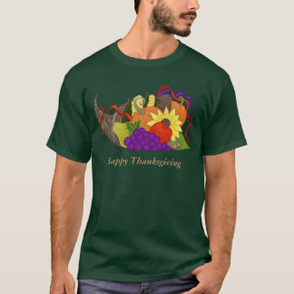 T-shirt Chemise de corne d'abondance de thanksgiving