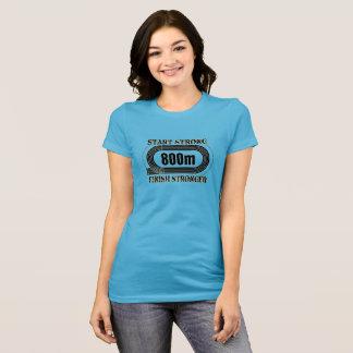 T-shirt Chemise de coureur de fond de milieu de