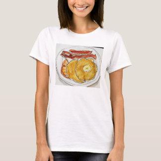 T-shirt chemise de crêpes