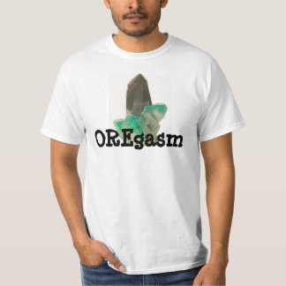 T-shirt Chemise de creusement en cristal Amazonite drôle