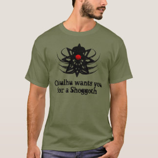 T-shirt Chemise de Cthulhu - Cthulhu vous veut pour un