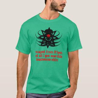 T-shirt Chemise de Cthulhu - évasion de R'lyeh