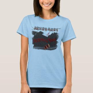 T-shirt Chemise de custume de minou de visionneuse