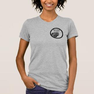 T-shirt Chemise de dames de CSAD - noir sur la pièce en t