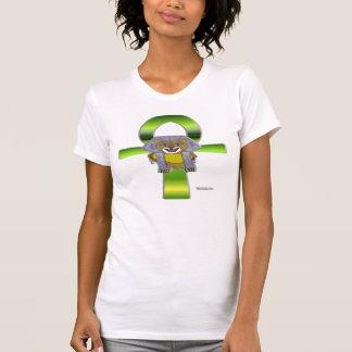 T-shirt Chemise de dames de Sekhmet Ankh petite