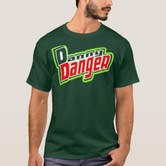 """T-shirt Chemise de danger de """"rosée"""" de Danny"""