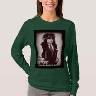 T-shirt Chemise de douille de dames d'Edison LittleQuail
